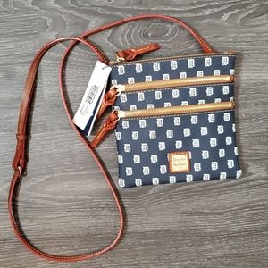 NWT Dooney & Bourke Detroit Tigers Crossbody Bag